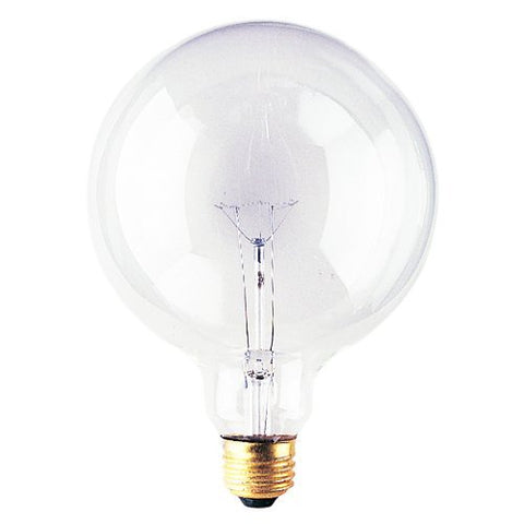 Bulbrite 351150 - 6PK - 150W - G40 - Medium Base - 125V - 2700K - 3,000Hrs - Clear - Incandescent Globe Light Bulbs - llightsdaddy - Bulbrite - Wall Plates