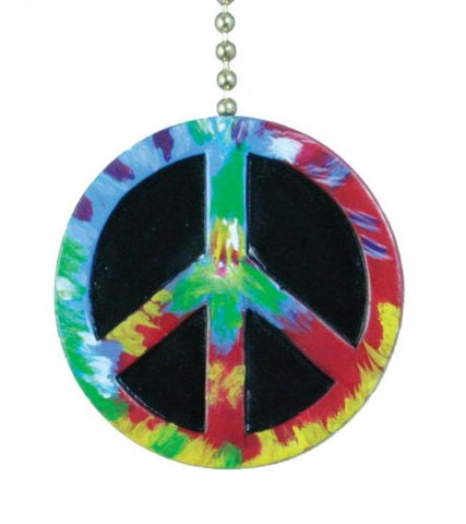 Peace Symbol Ceiling Fan Light Pull - llightsdaddy - Clementine Designs - Pull Chains