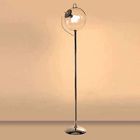 LED Floor Lamp, Iron Art Energy Saving Lamp, Glass Ball Floor Lamp, Table Lamp - Modern High Column Lamp, Creative Bedroom Floor Lamp - llightsdaddy - JYKJ - Table Lamp