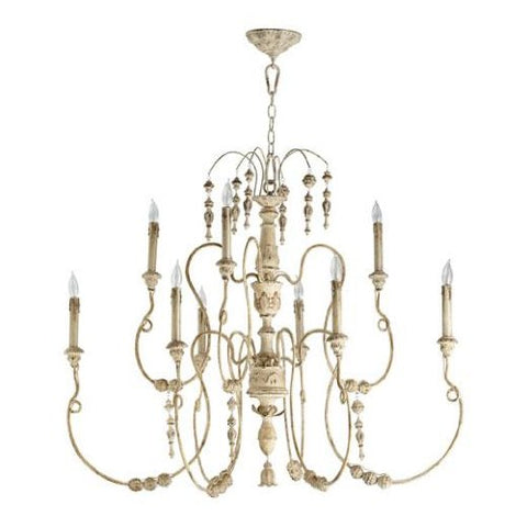 Quorum-6206-9-70---Palermo-9-Light-Chandelier-in-Persian-White
