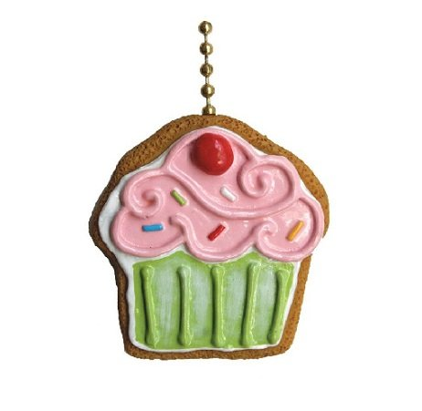Clementine Designs Cupcake Cookie Bakery Sweet Shop Ceiling Fan Light Pull