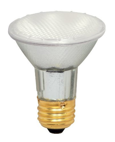 (Case of 15) Satco S4208 39 Watt (50 Watt) 500 Lumens PAR20 Halogen Food 42 Degrees Frosted Light Bulb, Dimmable - llightsdaddy - Satco - Wall Plates