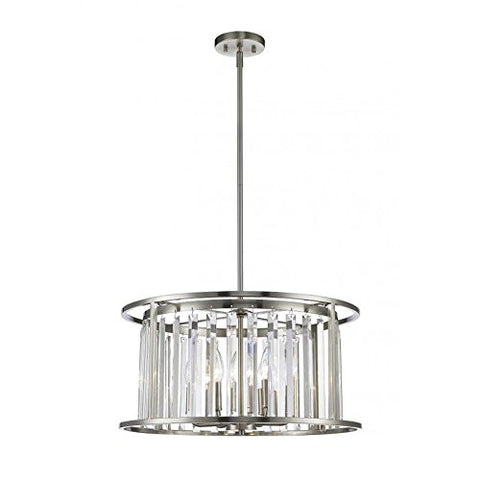 6 Light Pendant 439P-BN - llightsdaddy - Z-Lite - Pendant Lights
