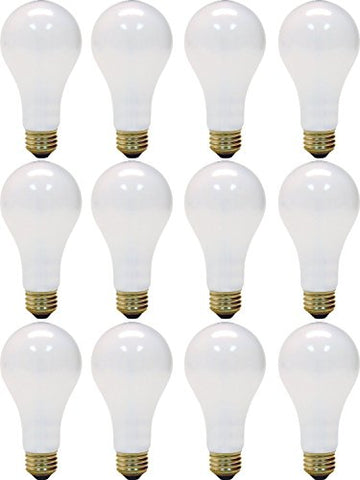 Ge 3 Way Soft White Light Bulb 150 W 615/1540 Lumens A21 Med Base 5-1/4 In. Sleeved - llightsdaddy - GE - Incandescent Bulbs