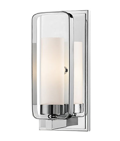 1 Light Wall Sconce 6000-1S-CH - llightsdaddy - Z-Lite - Wall Sconces and Lamps