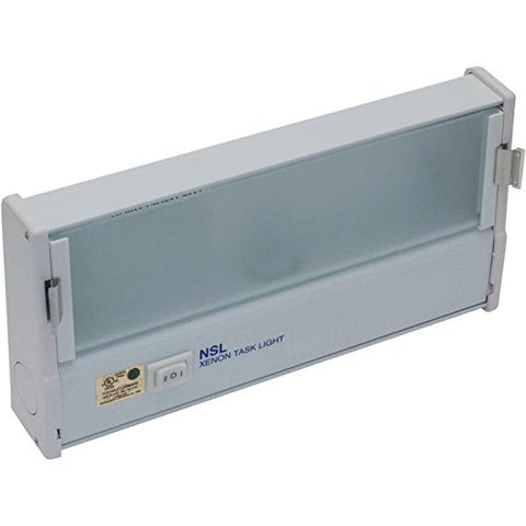 National Specialty XTL-1-HW/WH Xenon Under Cabinet Light - llightsdaddy - National Specialty Lighting - Under-Cabinet Lights