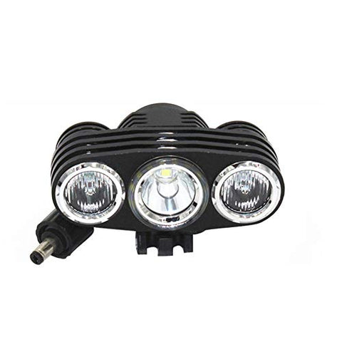 WWWJ Bicycle Headlight Riding Night Light,3Lights L2Lamp Beads Outdoor Super Bright Chargable Head Torch,Lightweight Portable Clip Lamp - llightsdaddy - WWWJ - Fixture Replacement Globes & Shades