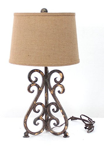Teton Home TL-035 Table lamp, Bronze