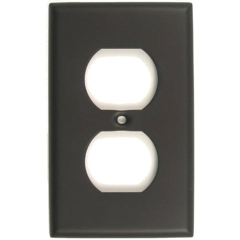Rusticware 783ORB Single Receptacle Switchplate Outlet Cover - llightsdaddy - Rusticware - Wall Plates