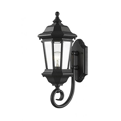 1 Light Outdoor Wall Light 540M-BK - llightsdaddy - Z-Lite - Outdoor Porch & Patio Lights