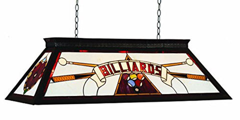 RAM Gameroom Products 44-Inch Billiard Table Light with KD Frame, Red, 44-Inch - llightsdaddy - RAM Gameroom - Billiard & Pool Table Lights