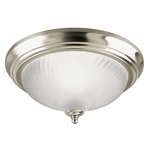Westinghouse Lighting  64304 Corp 1-Light Ceiling Fixture, Nickel
