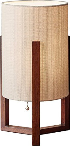 "adesso 1502-15 quinn 17"" table lantern, smart outlet compatible"