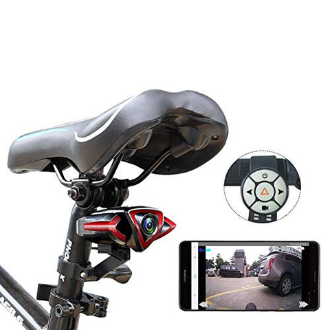 Bicycle Recorderr, Remote Control Turn Signal Warning Light, WiFi Mobile Phone Connection GPS Track-PostVideoB1 - llightsdaddy - WWWJ - Fixture Replacement Globes & Shades
