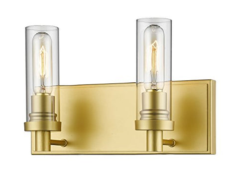 2 Light Vanity Light 3000-2V-SG - llightsdaddy - Z-Lite - Vanity Lights