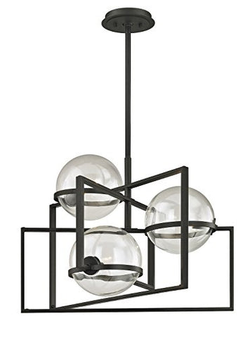 Troy Lighting F6223 Elliot Pendant, Textured Black