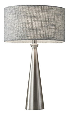 "Adesso 1517-22 Linda 21.5"" Table Lamp, Steel, Smart Outlet Compatible"
