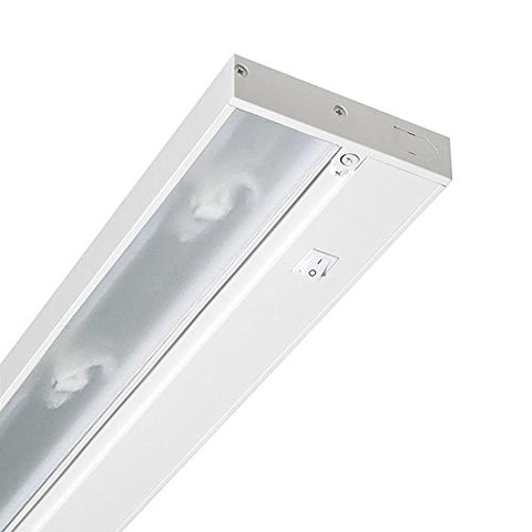 Juno Lighting Group UPX322-WH Pro-Series Xenon Under cabinet Fixture, 22-Inch, 3-Lamp, Designer White - llightsdaddy - Juno - Under-Cabinet Lights