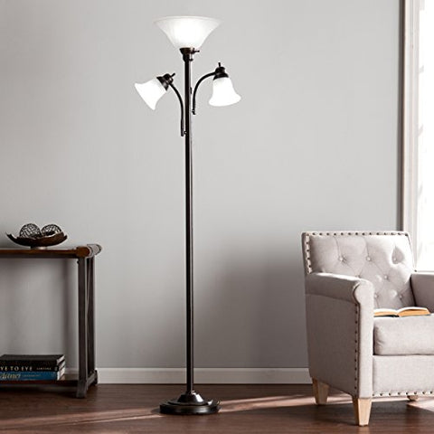 Southern Enterprises Oliver Floor lamp - llightsdaddy - Southern Enterprises - Lamp Shades