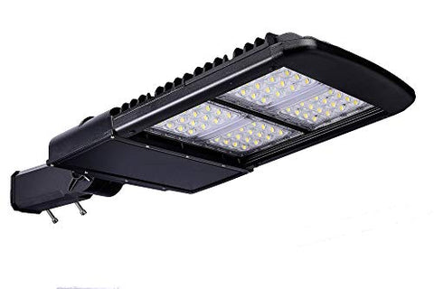 Parking Lot and Area Type V LED Area Light Fixture (Bronze, 150W (18800 Lumens))