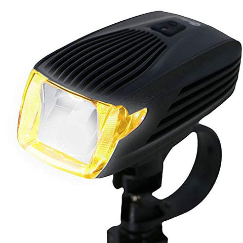 WWWJ Bicycle Headlight Outdoor Night Riding Clip Light, USB Rechargeable Portable Lightweight Waterproof Super Bright Torch, Riding Lighting Fixture