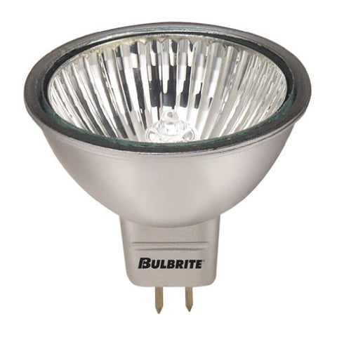 10 Pack 50 Watt MR16 GU5.3 Base Flood 24 Volt 3000 Hour Halogen Silver Coatin. - llightsdaddy - Bulbrite - Halogen Bulbs