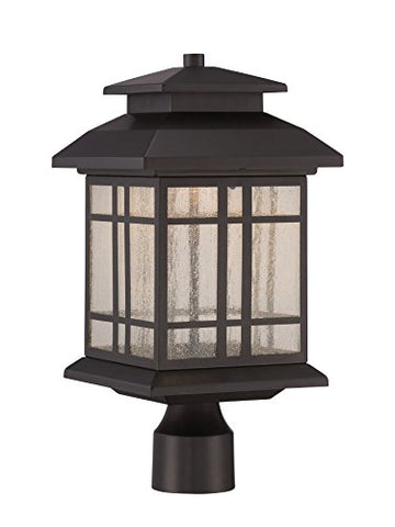 "Designers Fountain LED33436-ORB Piedmont 8"" LED Post Lantern - llightsdaddy - Designers Fountain - Torches"