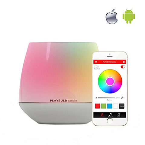 PLAYBULB Candle Bluetooth Smart Flameless LED Candle for iPhone and Android - llightsdaddy - Mipow - Flameless Candles
