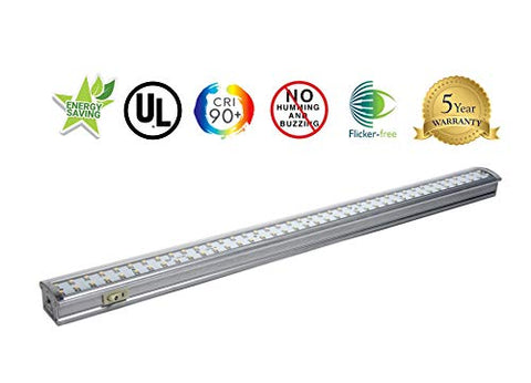 "Radionic Hi-Tech ZX515-CW: 19"" LED Undercabinet Light Fixture (Cool White)"