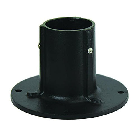 "Solo Lights, Die Cast Aluminum Stand for 3"" Surface Mount Post. Flange Base With Anchor Bolts Included - llightsdaddy - Solo Lights - Low Voltage Transformers"