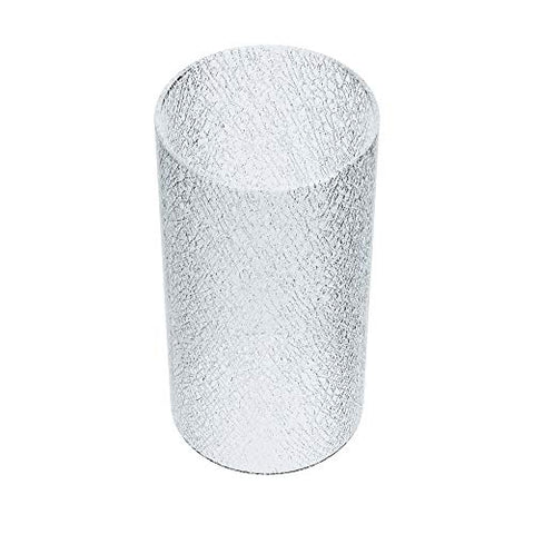 AOWIN Cylinder Cracked Glass Shade Glass Lamp Fixture Shade Replacement Glass Pieces with 3/3.5/4 inches - llightsdaddy - AOWIN - Fixture Replacement Globes & Shades