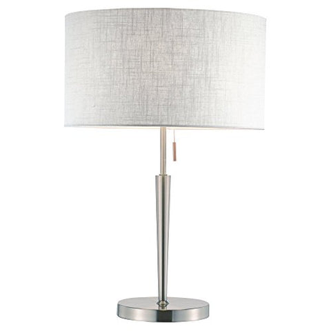 Adesso Hayworth 3456 Table Lamp - Satin Steel