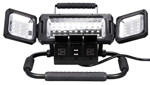 Winplus LM55812-6/1 LED Folding Work Light, Black - llightsdaddy - Winplus - Book Lights
