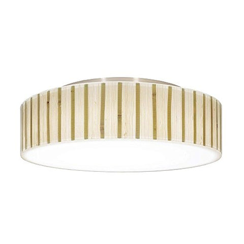 Decorative Ceiling Trim for Recessed Lights with Bamboo Drum Shade - llightsdaddy - Dolan Designs - Ceiling Lights