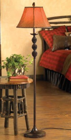 Black Forest Decor Pinegrove Floor Lamp - Rustic Lighting Fixtures - llightsdaddy - Black Forest Decor - Lamp Shades