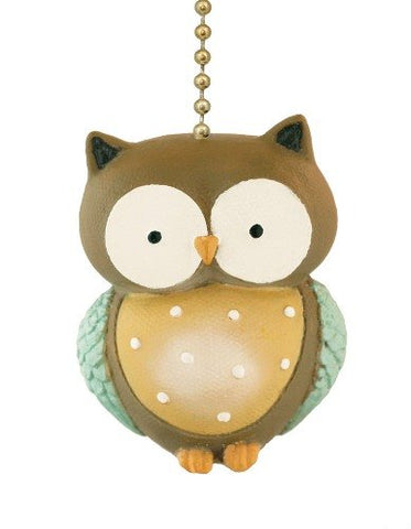 Little Hoot Owl Ceiling Fan Pull Light Chain-Home Decor