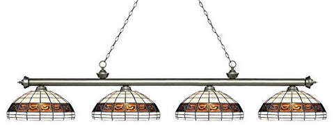 4 Light Island/Billiard Light 200-4AS-F14-1 - llightsdaddy - Z-Lite - Billiard & Pool Table Lights