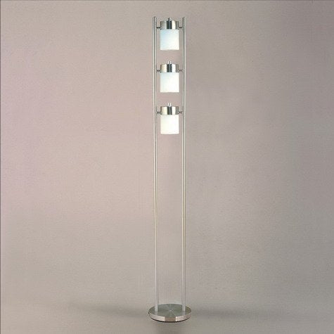 "Crown Mark Classic Floor Lamp with a Simple Base Design, 65"" H - llightsdaddy - Crown Mark - Lamp Shades"