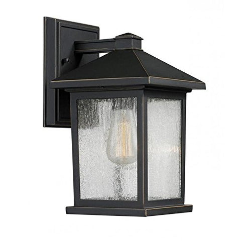 1 Light Outdoor Wall Light 531S-ORB - llightsdaddy - Z-Lite - Outdoor Porch & Patio Lights