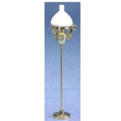 Dollhouse Miniature 1:12 Scale Victorian Floor Lamp - llightsdaddy - Miniature House - Lamp Shades