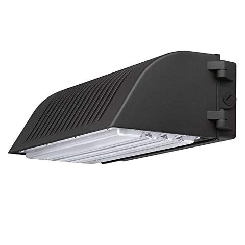 1000LED 45W LED Wall Pack Light, Outdoor Area Full Cutoff Fixture, IP65 Waterproof 4815Lm Super Bright, New Wall Pack AC120-277V Input, 5 Years Warranty