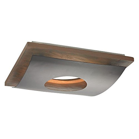 Natural Slate Decorative Square Ceiling Trim for Recessed Lights - llightsdaddy - Dolan Designs - Ceiling Lights