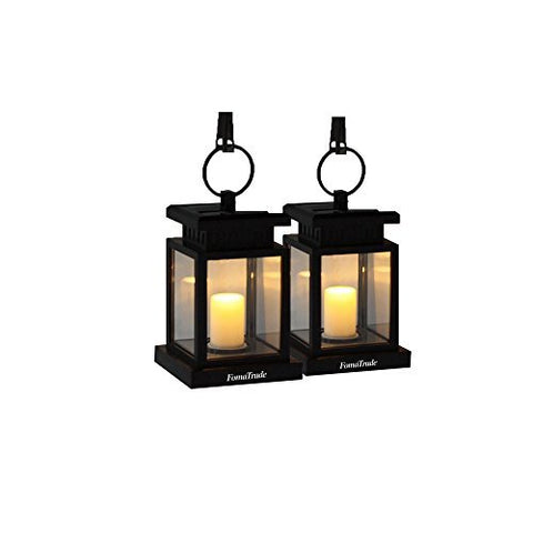 Solar Lights Outdoor,Vintage Waterproof Solar Hanging Umbrella Lantern Led Candle Lights with Clamp for Beach Umbrella Tree Pavilion Garden Yard Lawn Outdoor Camping Hiking Fishing 2 Warm light - llightsdaddy - FomaTrade - Umbrella Lights