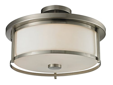 3 Light Semi Flush Mount 412SF16 - llightsdaddy - Z-Lite - Flush mounts