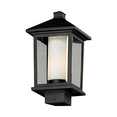 Z-Lite 538PHM-BK Outdoor Post Light - llightsdaddy - Z-Lite - Post Lights