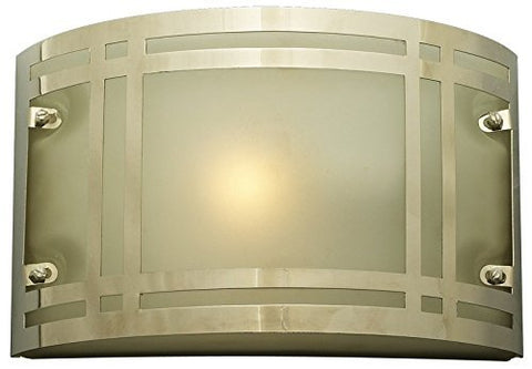 PLC Lighting 3601 PC Oslo Collection 1 Light Outdoor Fixture, Polished Chrome