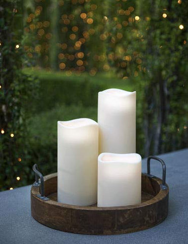"Outdoor Flameless Candle, 4"" x 9"" - llightsdaddy - Gerson - Flameless Candles"