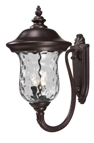Outdoor Wall Light 533B-RBRZ