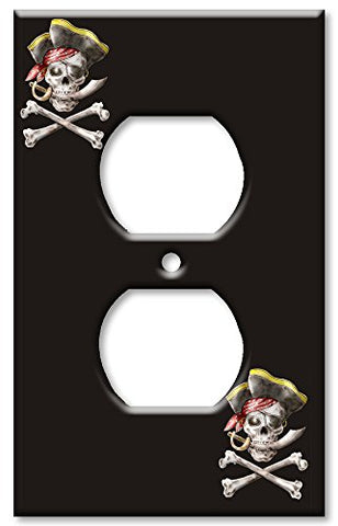 Outlet Cover Wall Plate - Pirate - llightsdaddy - Art Plates - Wall Plates
