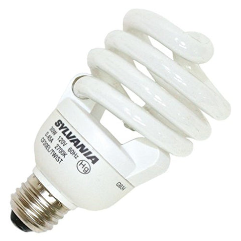 Sylvania 29792 - CF30EL/TWIST/RP Twist Medium Screw Base Compact Fluorescent Light Bulb - llightsdaddy - Osram - Fluorescent Tubes
